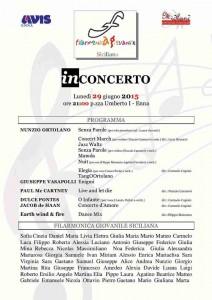 locandina Filarmonica Giugno 2015