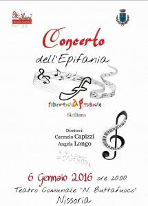 concerto dell' Epifania Nissoria 06 Gennaio 2016