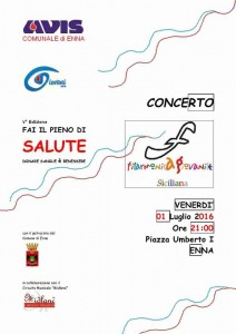 Loc Filarmonica Avis Enna 01 Luglio 2016