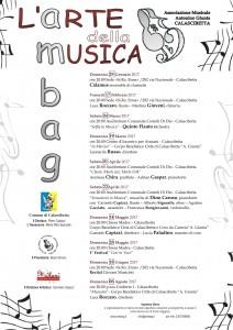 Loc. rassegna concertistica 2017-1